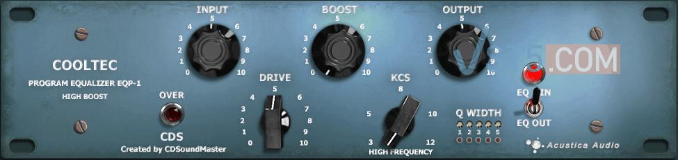 Acustica Audio Cooltec EQP1 v1.3.609.0 Incl Keygen-R2R插图