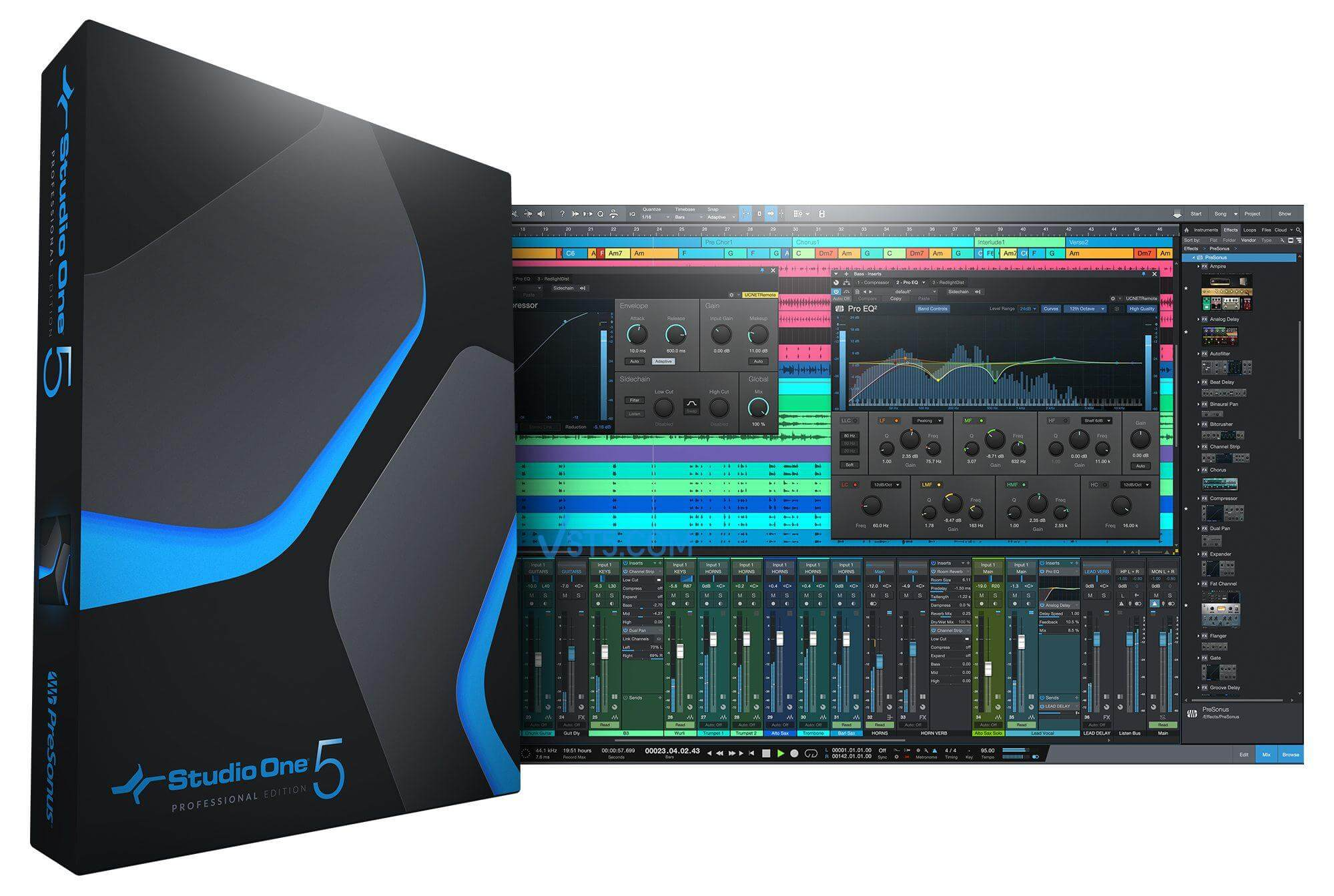 PreSonus Studio One 5 Professional v5.0.1 Incl Patched and Keygen-R2R插图