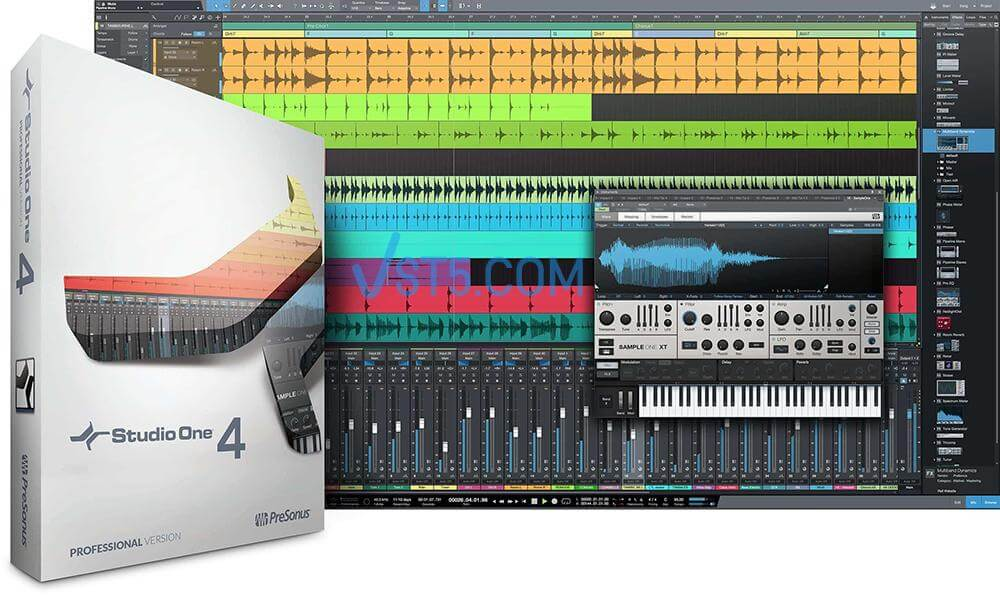 PreSonus Studio One 4 Professional v4.6.2 Incl Patched and Keygen-R2R插图