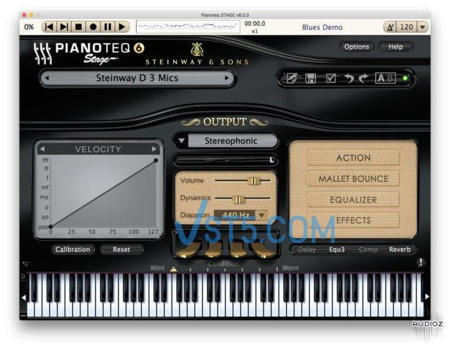 Pianoteq STAGE v6.2.2 Standalone VST VST3 AAX WiN x86 x64插图