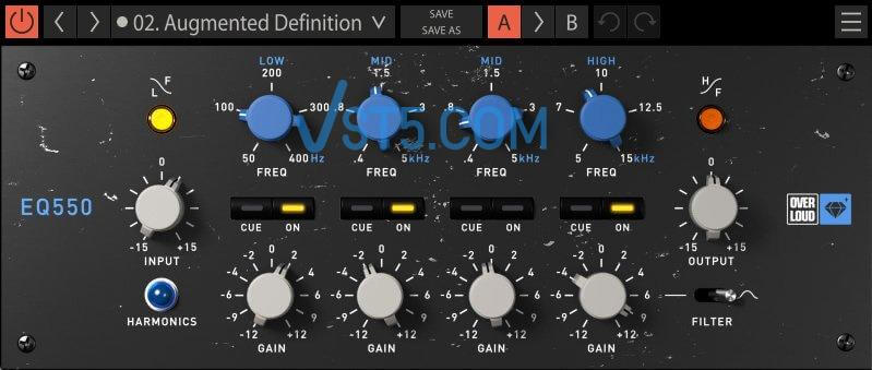 Overloud Gem EQ550 v1.1.0 Incl Keygen (WIN)-R2R插图