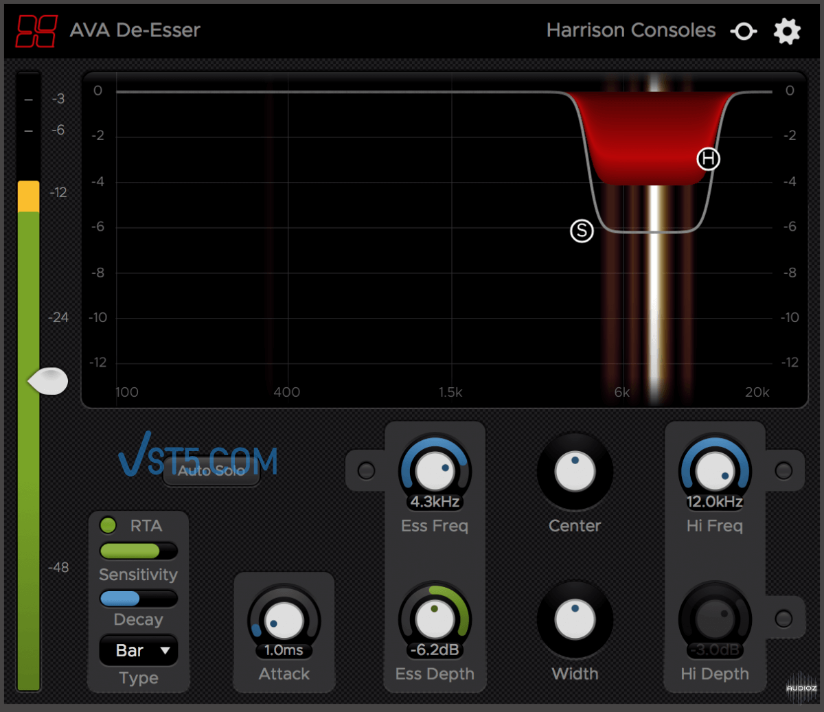 Harrison AVA De-Esser v2.0.1 Incl Patched and Keygen-R2R 齿音消除插件插图
