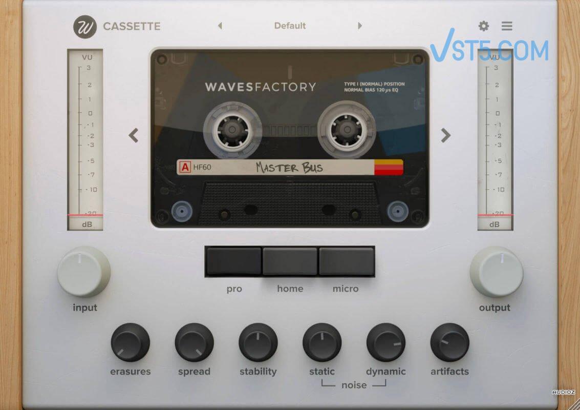 Wavesfactory Cassette v1.0.4 Incl Patched and Keygen-R2R  80 90后怀旧必备插图