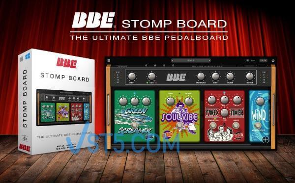 BBE Sound Stomp Board v1.0.1 Incl Keygen WiN-R2R BBE吉他效果器插图
