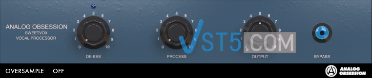 Analog Obsession SweetVox v3.0 VST VST3 AU WiN MAC [FREE] 甜美人声塑造插件插图