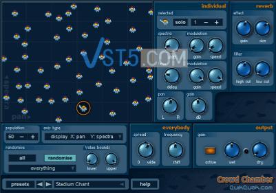 QuikQuak.Crowd.Chamber.v4.0.CE-VR 模拟人群合唱插件插图