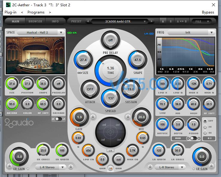 2CAudio Aether 1.6.0 顶级混响器插图