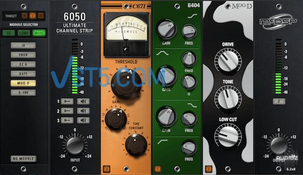 McDSP 6050 Ultimate Channel Strip v6.2.0.10 WiN-AudioUTOPiA 通道条插图