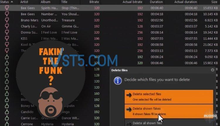 Fakin' The Funk? v3.0.0.139 WiN 检测音频真实质量神器插图