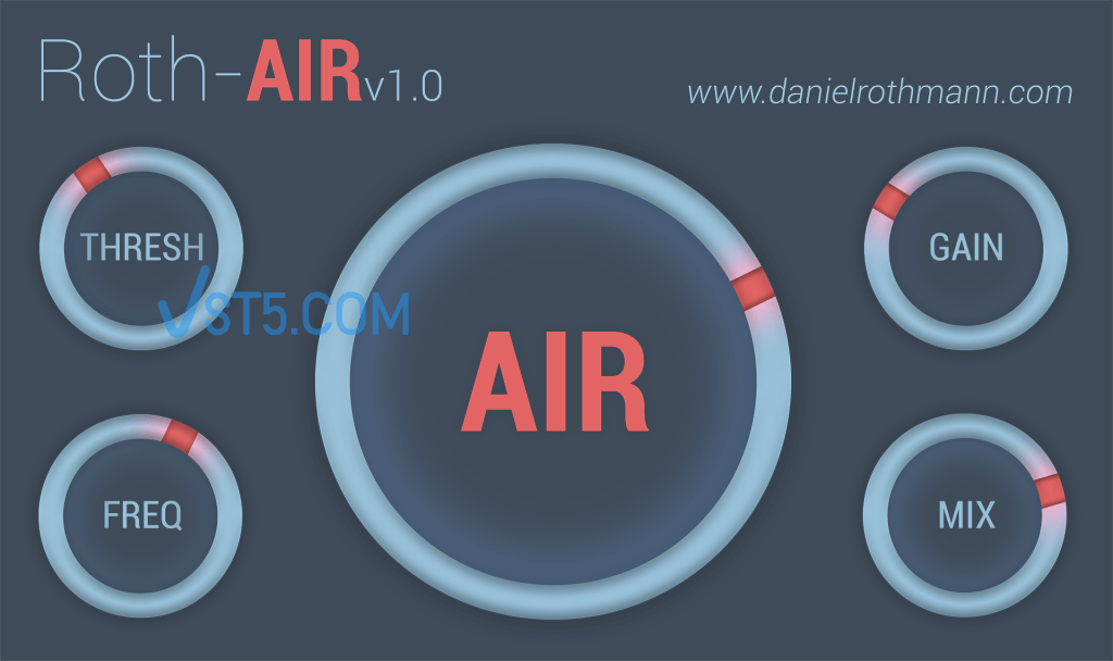 Daniel Rothmann – Roth-AIR v1.0 x86 x64 FREE 一键增加空气感插件插图