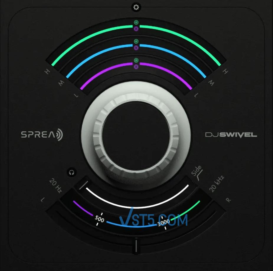 DJ Swivel Spread v1.0 Incl Patched and Keygen-R2R 立体声成像插件插图