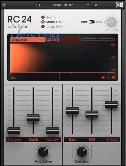 Native Instruments RC 24-精致经典混响-v1.3.1-R2R插图