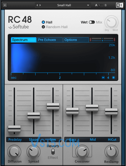 Native Instruments RC 48-精致经典混响-v1.3.1-R2R插图