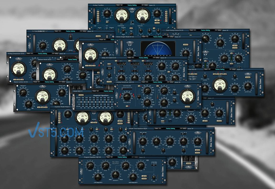 Nomad Factory Blue Tubes Bundle VST v2.0 蓝色电子管插件插图