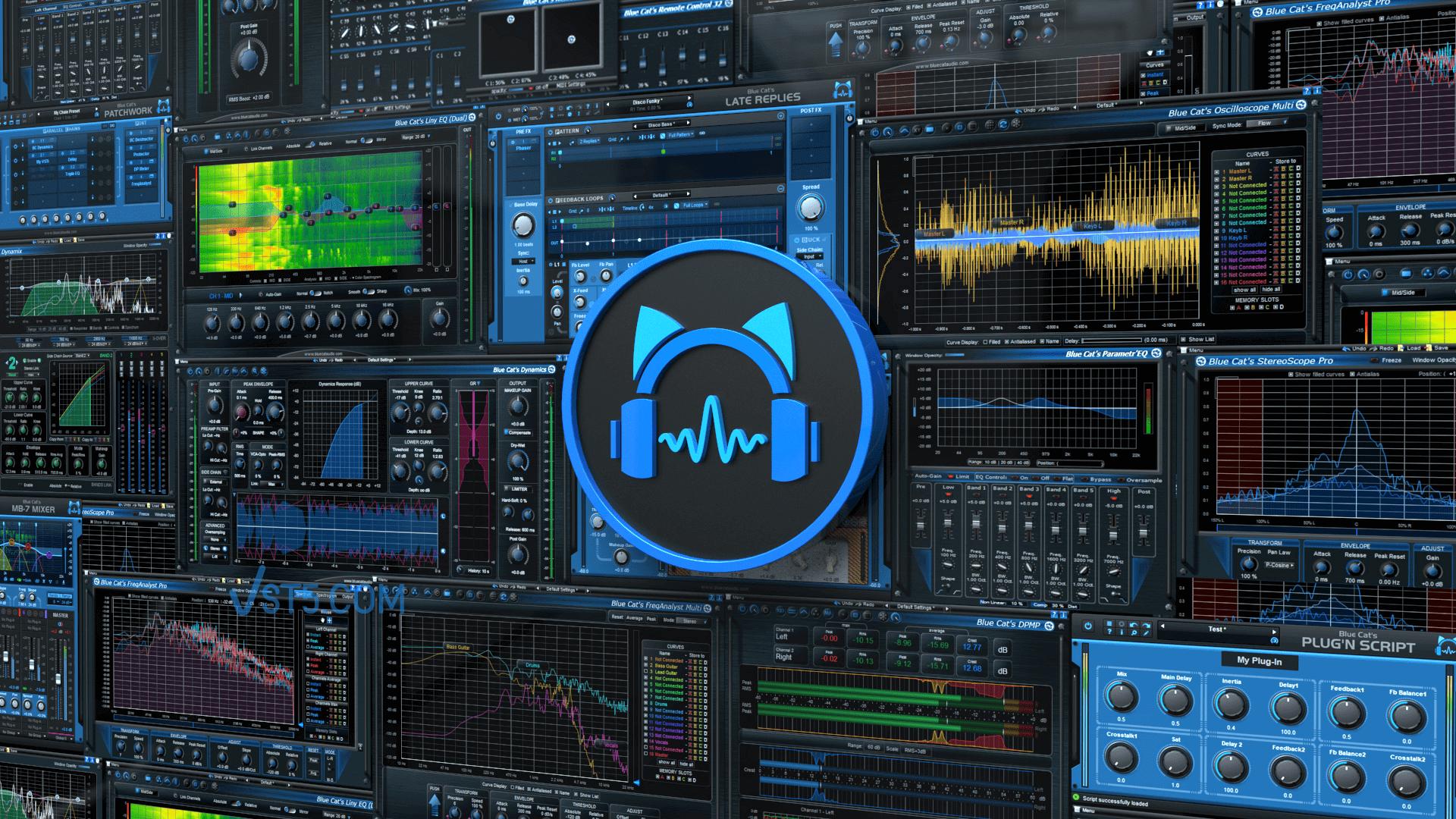 Blue Cat's All Plug-Ins Pack 2020.10 CE-V.R 蓝猫插件套装插图