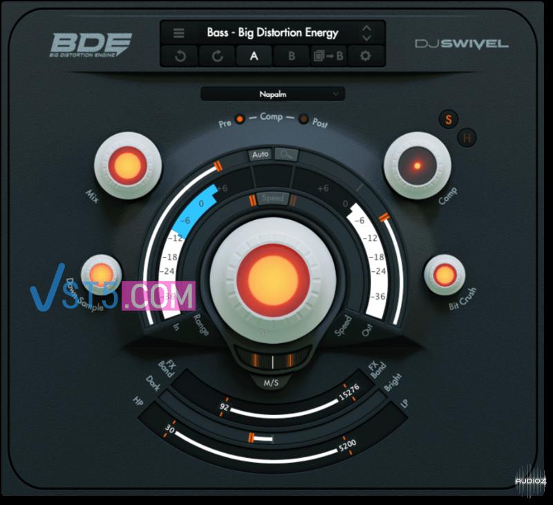 DJ Swivel BDE v1.0 Incl Patched and Keygen-R2R 震撼地球失真插件插图