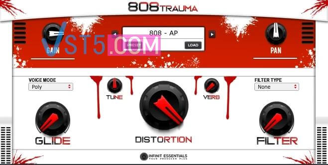 Infinit Essentials 808 Trauma RETAiL-FLARE插图