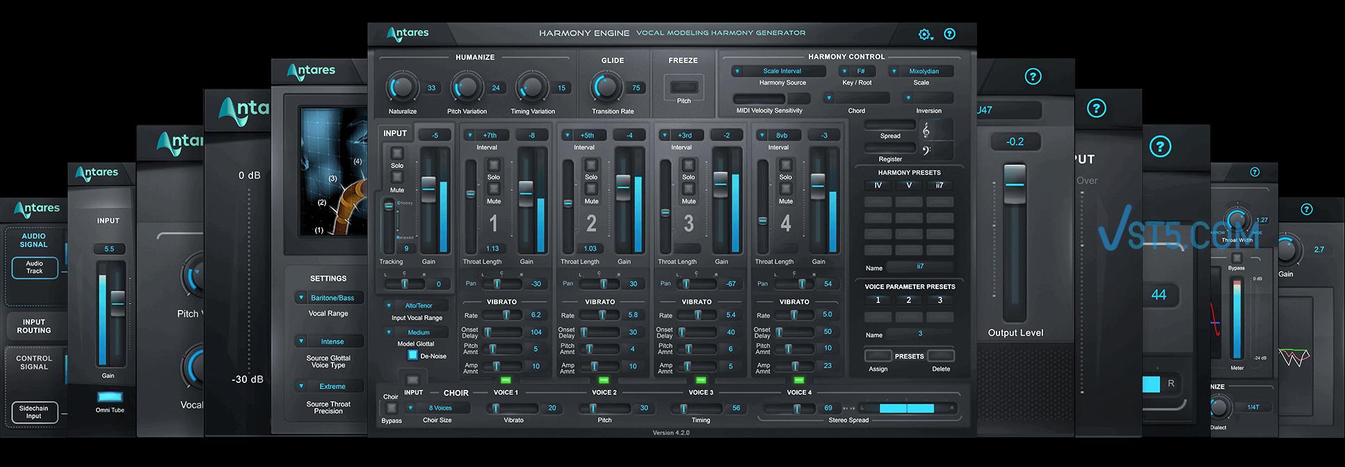 Antares AVOX v4.2.0 CE-V.R 人声处理效果器插图