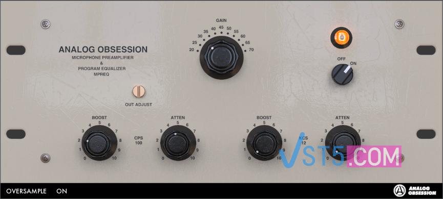 Analog Obsession MPReq v3.0 RETAiL WiN-DECiBEL 麦克风前置放大器插图