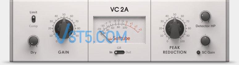 Native Instruments Vintage Compressors VC 2A 1.3.1-R2R 光电式复古压缩效果器插图