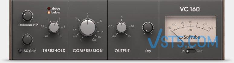Native Instruments Vintage Compressors VC 160 1.3.1-R2R 经典复古压缩效果器插图